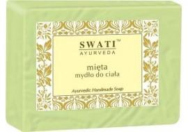 Swati Ayurveda - mydło do ciała - mięta