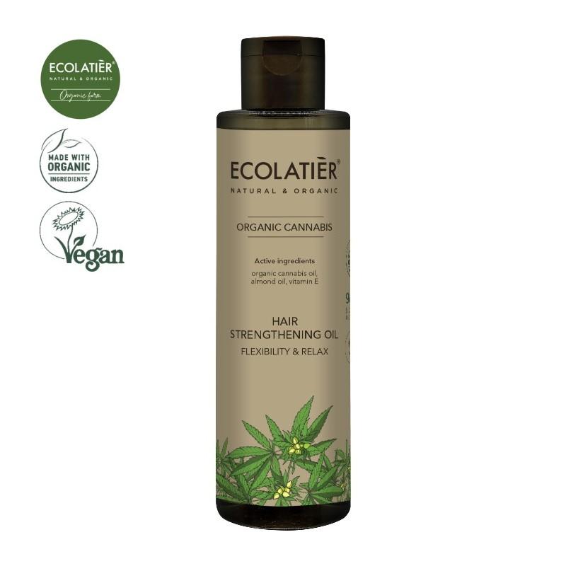 EcoLab - Ecolatier - Cannabis - wzmacniający olejek konopny - elastyczność i relaks