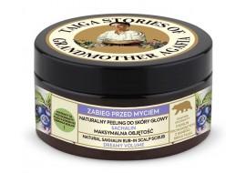 Receptury Babuszki Agafii - Tajga - Naturalny peeling do do skóry głowy z białą glinką - zabieg przed myciem