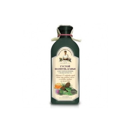 Recepury Babuszki Agafii - szampon ziołowy gęsty