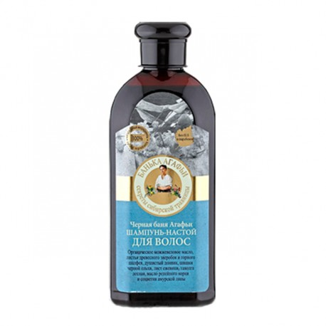Recepury Babuszki Agafii - szampon-nalewka ziołowa do włosów