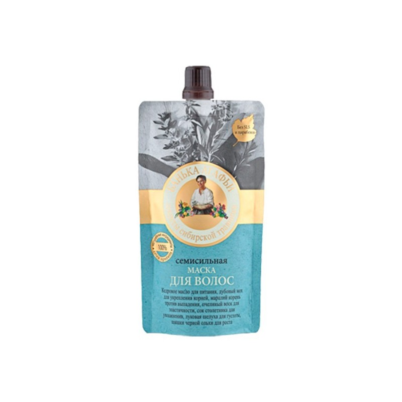 Recepury Babuszki Agafii - maska do włosów super silna - wzmocnienie , stymulacja wzrostu 100ml