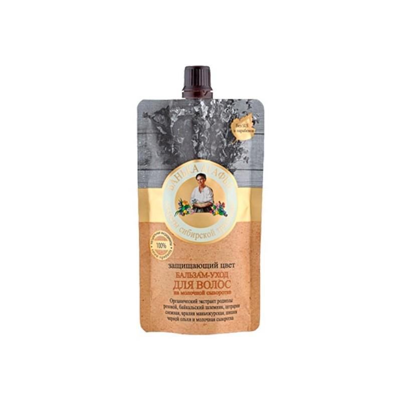 Recepury Babuszki Agafii - balsam do włosów farbowanych - pielęgnacyjno-ochrony 100ml