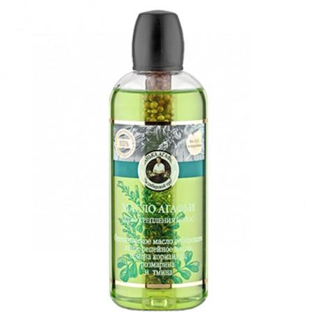Recepury Babuszki Agafii - olej do włosów - wzmacniający