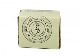 Mydło oliwkowo-laurowe z Aleppo 30% - GHAR
