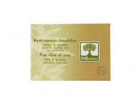 Bioselect: oliwkowe mydło antycellulitowe z luffą i guaraną