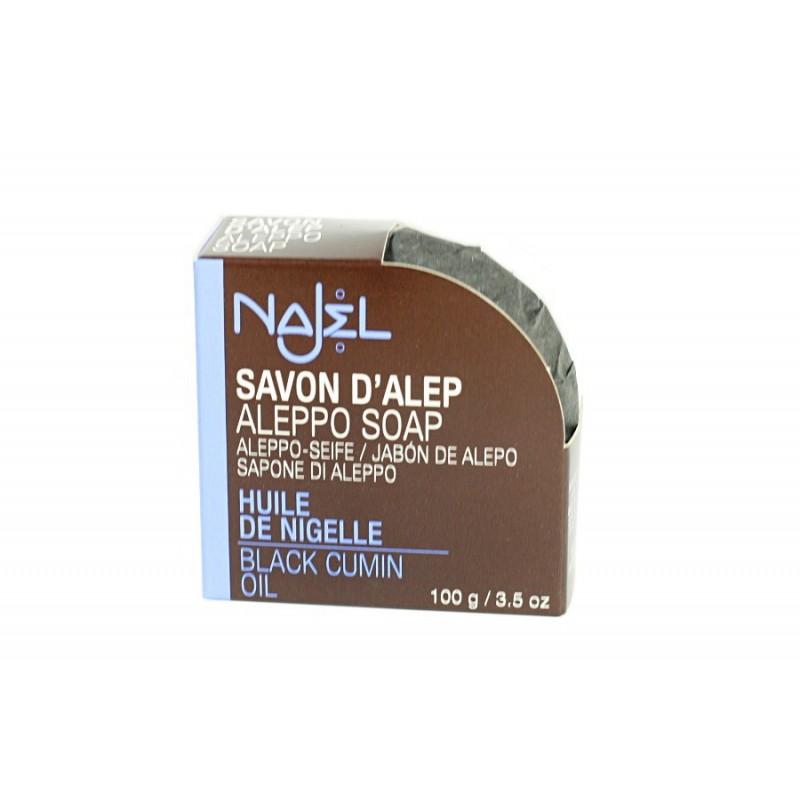 Najel - mydło Aleppo z olejem z czarnuszki