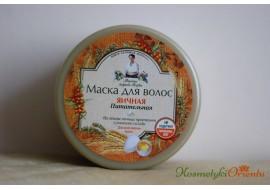 Recepury Babuszki Agafii -  maska do włosów jajeczna – odżywcza
