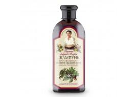 Receptury Babuszki Agafii – szampon przeciwłupieżowy do wszystkich typów włosów, mydlnica lekarska