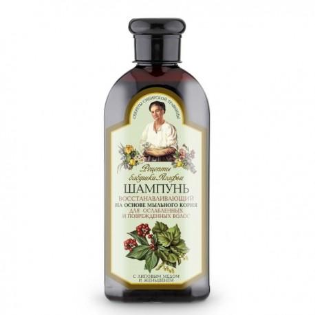 Receptury Babuszki Agafii – szampon regeneracyjny do osłabionych i zniszczonych włosów
