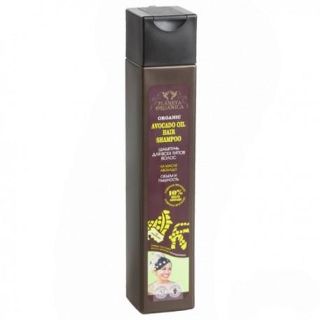 Planeta Organica – szampon do wszystkich włosów – objętość i puszystość – olej avocado 10%
