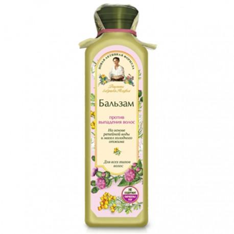 Receptury Babuszki Agafii – balsam przeciw wypadaniu – wyciąg z łopianu, oleje z zimnego tłoczenia (bez PEG i parabenów)