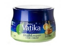 """Dabur Vatika – krem do włosów """"Nocna regeneracja"""" – proteiny jajeczne, olej rycynowy, migdały"""