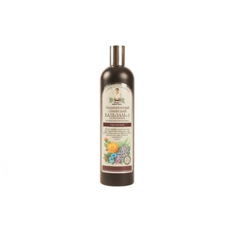Receptury Babuszki Agafii – syberyjski balsam wzmacniający Nº 1 na cedrowym propolisie