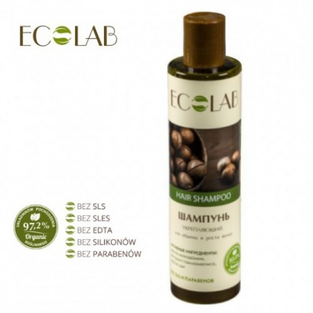 Eco Lab – szampon wzmacniający – objętość i przyśpieszenie porostu