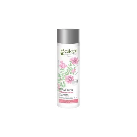 Baikal Herbals – szampon – objętość i siła do włosów cienkich i delikatnych (bez SLS i parabenów)