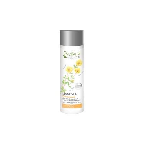 Baikal Herbals – szampon oczyszczający do włosów szybko przetłuszczających się (bez SLS i parabenów)