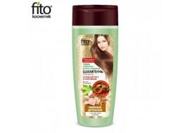 Fitokosmetik – szampon do włosów aktywny wzrost i wzmocnienie – drożdże piwne z szyszkami chmielu i słodem
