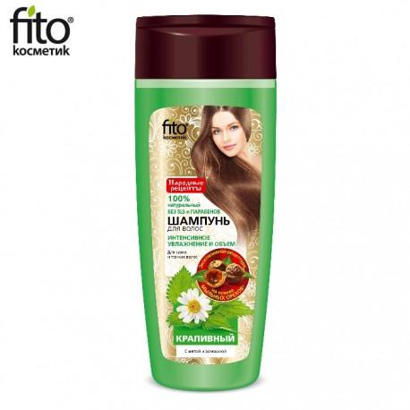 Fitokosmetik – szampon pokrzywowy z miętą i rumiankiem do włosów cienkich i suchych