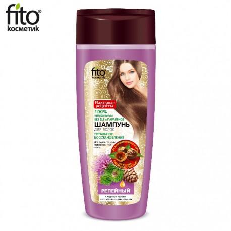 Fitokosmetik – szampon łopianowy z olejkiem cedrowym i kompleksem odbudowującym