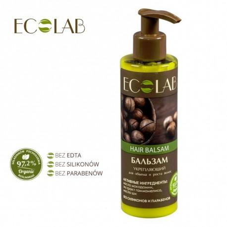EcoLab - balsam wzmacniający do włosów - objętość i wzrost