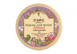 Recepury Babuszki Agafii - maska łopianowa wzmacniająca włosy