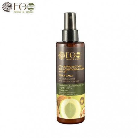 EcoLab – Niezmywalne serum-balsam do włosów farbowanych – ochrona koloru – indyjska amla, koenzym Q10