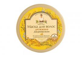 Recepury Babuszki Agafii -  maska drożdżowa pobudzająca wzrost włosów