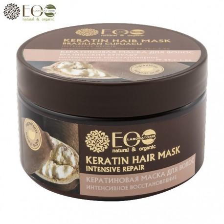 EcoLab – Maska intensywna regeneracja – Kompleks kerapeptydów + witaminy PP, B5, C, E, B6 (EC221)