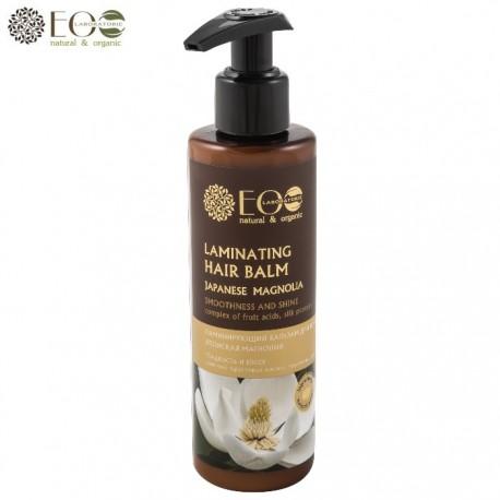 EcoLab – Balsam laminujący do włosów – japońska magnolia, kompleks kwasów owocowych, proteiny jedwabiu