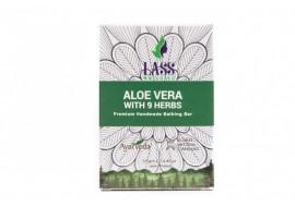 Lass Naturals - mydełko z aloesem i 9 ziołami