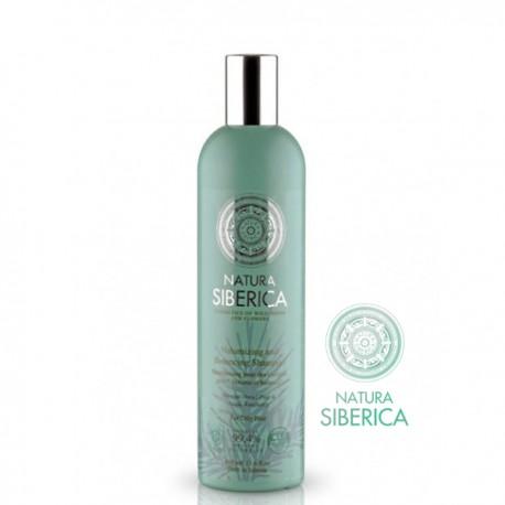 Natura Siberica – szampon do włosów przetłuszczających się – objętość i równowaga
