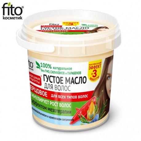 Fitokosmetik – gęsty olejek pieprzowy z efektem mezoterapii – do włosów