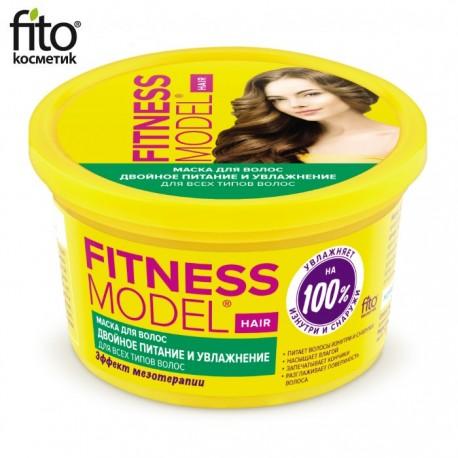 Fitokosmetik – Fitnessmodel – maska do włosów podwójne nawilżenie i odżywienie