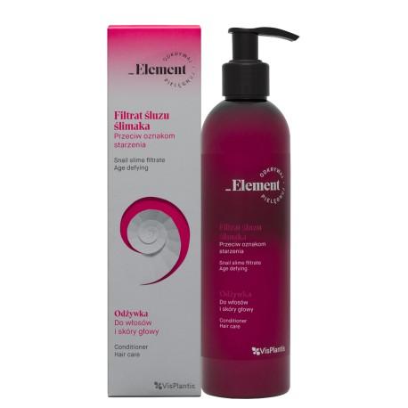 Vis Plantis – Element – filtrat ślimaka – przeciwstarzeniowa odżywka do włosów i skóry głowy