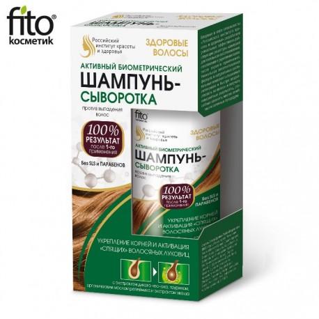 """Fitokosmetik – aktywny biometryczny szampon-serum przeciw wypadaniu włosów – """"zdrowe włosy"""""""
