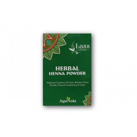 Lass Naturals – henna czerwona z ajurwedyjskimi ziołami