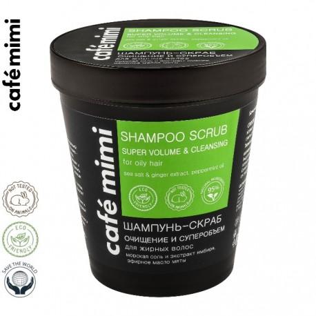 Le Cafe de Beaute - Cafe Mimi – szampon-scrub do włosów tłustych – oczyszczenie i objętość