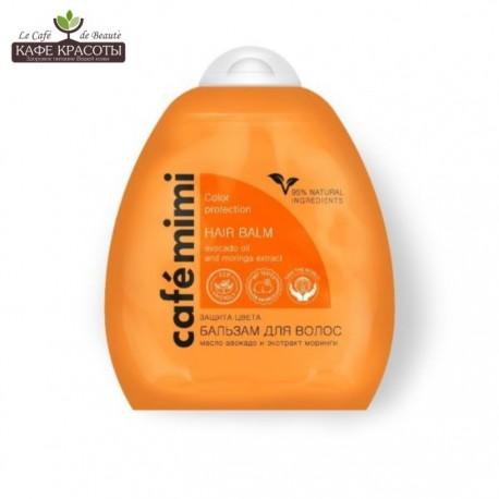 cafe mimi balsam do włosów regeneracja i gładkość - cafe mimi balsam do włosów ochrona koloru