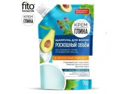 """Fitokosmetik – szampon """"Luksusowa objętość"""" niebieska glina i olej łopianiowy"""