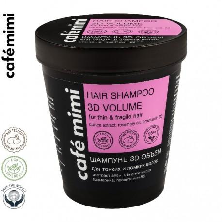 Le Cafe de Beaute – Cafe Mimi – szampon do włosów cienkich i łamliwych 3D – objętość