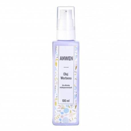 Anwen – olej werbena – do włosów niskoporowatych