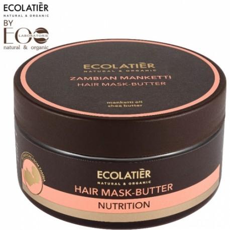 EcoLab – EcoLatier – odżywcza maska-masło do włosów Zambian Manketti