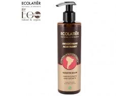 EcoLab Ecolatier – keratynowy balsam do włosów – regeneracja i wzrost
