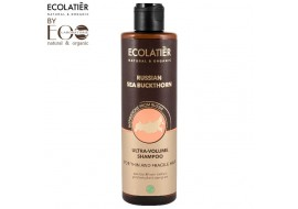 EcoLab Ecolatier – szampon ultraobjętość do cienkich włosów Russian Sea Buckthorn