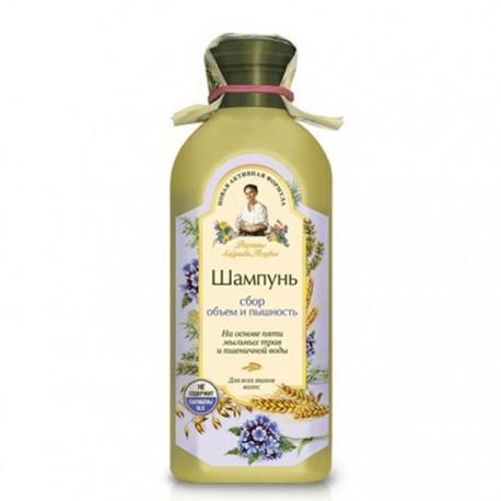 Receptury Babuszki Agafii – szampon objętość i zdrowy wygląd