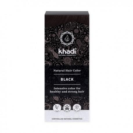 czarna henna do włosów firmy Khadi - dobra cena i świetne opinie