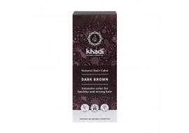 Khadi henna ciemny brąz - czekoladowy odcień włosów