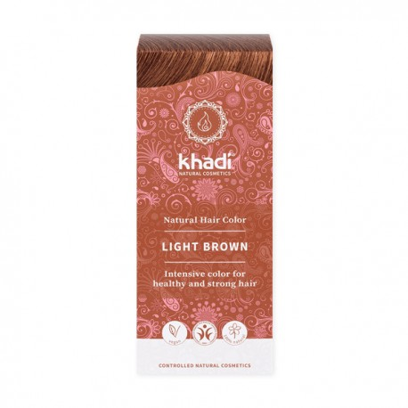 Khadi henna jasny brąz