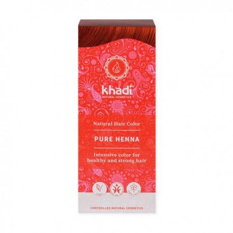 Khadi henna  naturalna czerwona (ruda)